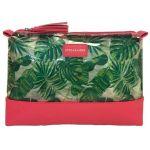 The Tropics Micro Top Zip Cosmetic Case
